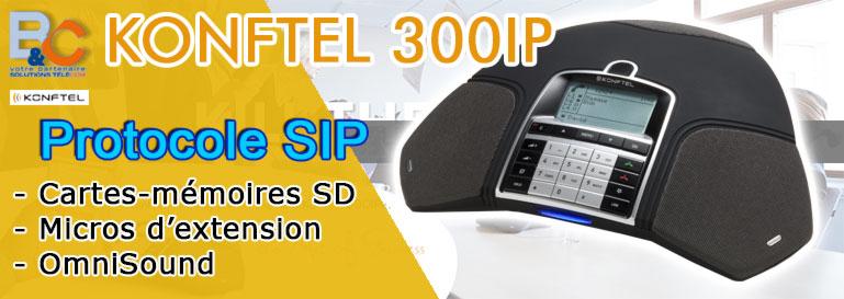 Poste D'audioconférence Konftel 300 IP POE