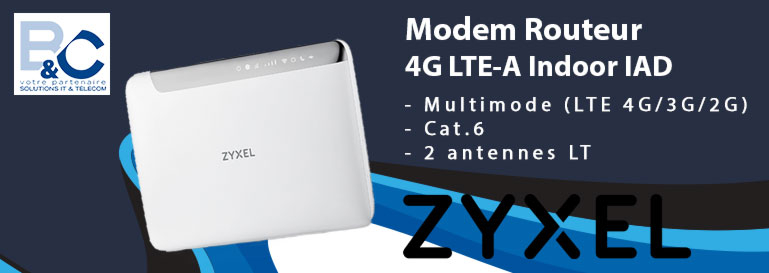 Modem Routeur 4G LTE-A Indoor IAD